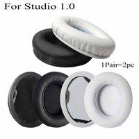 Dla Studio 1.0 Studio1 Monster Słuchawki Słuchawki Earpad Soft Protein Protein Leather Wymiana Ear Pad Earmuff Ear Muff Studio 1 Zestaw słuchawkowy