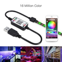 RGB Bluetooth USB LED Light Strip IP67 flexível Neon Light Tape WiFi Música Remoto Controle APP TV Backlight Motorcycle Ledstrip Kit