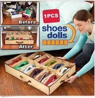 Shoes Storage Organizer Holder Container 12 Pairs Under Bed ...
