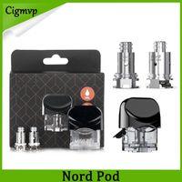 Nord Pods Cartuchos 3ml com 1.4ohm regular 0.6ohm malha bobinas cartuchos de substituição para Kit Nord
