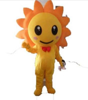NEW STYLE Sunflower cartoon Mascot Costume Fancy Dress Anima...