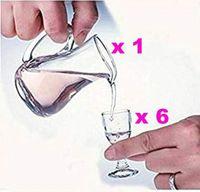 Um super pequeno copo de vinho de vidro ultra-transparentes cálice de uma xícara de Maotai pequeno copo de espíritos 7pcs