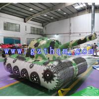 Tanque del ejército inflable de envío gratis para publicidad Modelos de tanques del ejército inflable de publicidad Publicidad Air Paintball Tanks Modelo