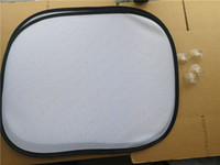 التسامي الشمس فارغ أقنعة الظل نقل الساخنة الطباعة حسب الطلب مواد استهلاكية حوالي 44 * 36CM