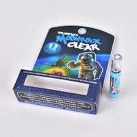 New MoonRock Clear Cartridge 1.0ml 1 Gramm Keramikspulenkessel Vape Verdampfer Moon Rock Carts für 510-Faden-Ölzerstäuber 7 Aroma AT211