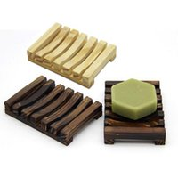 Sabão de madeira de madeira de cor cremalheira carvão trabalho de cor proteção ambiental Louça sanitária retro 2 cores prateleira sabão criativo
