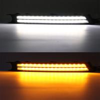 2PCS carro DRL Para Mazda CX-5 CX5 cx 5 2018 2017 sinal de volta e estilo escurecimento Relé 12V LED Daytime Running luz Fog Lamp Decoração