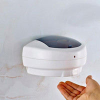 500ml Touchless distributeur de savon liquide alcool machine automatique hôtel à domicile Distributeur de savon mural Désinfectant pour les mains Distributeur Gel FFA4139