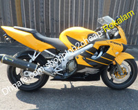 F4 Honda CBR600 CBR 600 CBRF4 600F4 CBR600F 4 99 00 1999 2000 Sarı Siyah Motosiklet Perileri (Enjeksiyon Kalıpları)