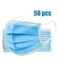 Disposable Face Mask 3 Layers Dustproof Mask Facial Protecti...