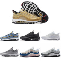 2019 Men OG Athletic Runnin Shoes QS Women Shoes Yellow White Trainer Outdoor Cushion Breathable Outdoor Walking sneakers 40-45