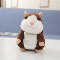 Kinder Spielzeug Plüsch Tiere, die Hamster Mäuse Niedlichen Sprecher Sound Rekord Hamster Sprechen Rekord Maus Maus Gefüllte Pet Plüschtier BT5437