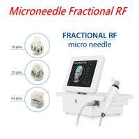 FRACIDAL RF MICRONEEDLE MÁQUINA Cuerpo facial Terapia de micerapeedling Face Lifting Fruga Scargación de la piel Cuidado de la piel Oro Micro Aguja US / EU / UK / AU / enchufe