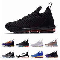 Neue Lebron 16 Equality Away Home Pack James Fresh Bred SuperBron Herren Basketballschuhe Remix Lebrons 16s Trainer Sport Sneakers Größe 12