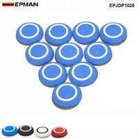 EPMAN 10 pezzi rotonda Porta Copribordi Guardia d'angolo della protezione del respingente rotonda di protezione Sticker Car anticollisione anti-graffio EPJDP1025