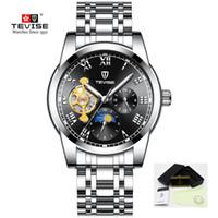 Herrenuhren Uhren Tevise T839a Uhr Männer Marke Automatische Uhr Luminous Hand Business Mechanische Uhr Wasserdicht Edelstahl Männlichen Armbanduhr