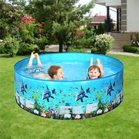 Kids Inflatable Round Swimming Pool for baby inflatable Pool High Quality Children's Home Use Paddling Large Size May8