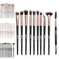 Yeni Pro Makyaj Fırçalar Set 12 adet / grup Göz Farı Karıştırma Kaş Kirpik Eyeliner Fırçalar Için pincel Maquiagem Makyaj
