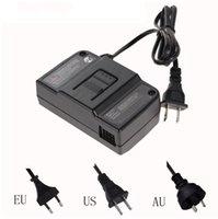 N64 UE de los EEUU Reino Unido del AU del enchufe del cargador de pared AC / DC adaptador de energía de alimentación para N64 de N64 Negro