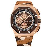 2020 высокого класса мужской моды MONTRE De Luxe мужские часы VK хронограф кварцевый 5ATM водонепроницаемые часы мужские спортивные цвет резиновый ремешок