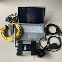 Otomatik Aracı BMW ICOM Sonraki WiFi 480 GB SSD CF-AX2 Laptop I5 5G Ikinci Kullanılmış Dokunmatik Ekran Teşhis