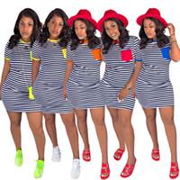 Женские дизайнерские летние мини-платья сексуальные клубные ножны колонки пляжная одежда выше колена полосатые платья праздничные платья бесплатная доставка 915