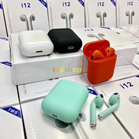 i12 TWS Touch Wireless Earbuds Double V5. 0 Bluetooth Headpho...