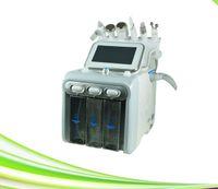 6 em 1 limpeza da pele do spa ultra-sônico purificador de água jato de oxigênio peeling lift elevador de oxigênio jato de oxigênio