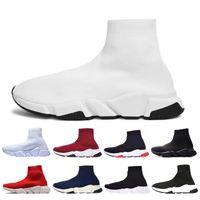 sock Top qualità uomo donna casual calzino Scarpe designer Speed Trainer bianco Nero rosso Triple nero Sneaker Trainer scarpe da parigi 36-45