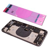 For iPhone 8 Plus Full Housing Middle Frame Chassis Battery ...