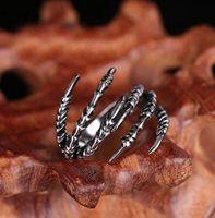 Europa und die Vereinigten Staaten eingelegten asymmetrischen ring ring Männer paw Drachen Adler