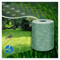 Биоразлагаемые семян ковыль семена 20cmx300cm стартер коврик газон посадка удобрение бумаги экологического одеяло окружающая среда содружественная дропшиппинг