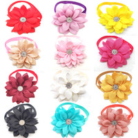 30 Pcs Pet Dog Bow Tie Flower Style Beautiful Puppy Dog Cat ...
