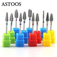 Art Equipment Rainbow Tungsten Carbide Drill Bit Ceramic Bur...