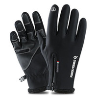 Snow Sports Ski Gloves Touch Screen Waterproof Skiing Protec...