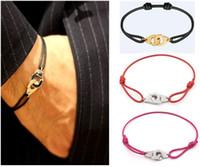 França Famoso Jóias Dinh Van Bracelet para as Mulheres Moda Jóias 925 Sterling Silver Rope algema Pulseira menottes