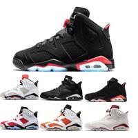942bc4e349 Nike air jordon retro Nova raça 6 6 s basquete shoes funileiro unc gato  preto branco
