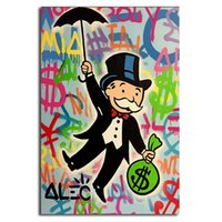 Monopolyingly Man Umbrella Minimalist Canvas Posters Prints ...
