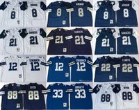 a1539ac54 ... Jersey 100% Stitched Embroidery Cowboys Troy Aikman  8 Color Rush  Football Shirts. US  19.91   Piece. New Arrival