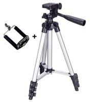 تمديد 36-100cm قابل للتعديل حامل ترايبود جبل حامل كليب لايف لليوتيوب كاميرا الهاتف حامل القوس للحصول على كاميرا الهاتف
