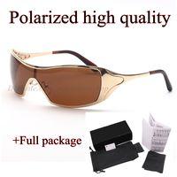 novos óculos polarizados desporto Siamese por homens e mulheres ao ar livre ciclismo sol condução óculos 4008 de alta qualidade com caixa