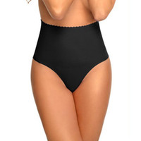 Miss Moly Femmes Ceinture Taille Haute Cintre Ventre Contrôle Corps Body Shaper Mince Sexy Thong Panty Shapewear taille formateur Corset