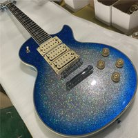 New Custom Shop, Blue Guitar, Rosewood Fingerboard, 6- String...