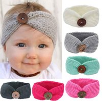 New Baby Girls Fashion Wool Crochet Headband Knit Hairband W...