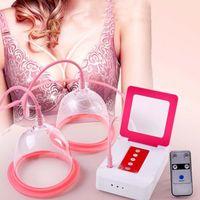 Nuevo diseño inteligente simple eléctrico doble tazas de masaje bomba de masaje abundancia Máquina de belleza mamá recargable dispositivo uso doméstico