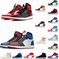 1 High OG Travis Scotts Basketballschuhe Spiderman UNC 1s Top-3 der Männer Homage To Home Royal Blue Men Sport Designer Turnschuh-Trainer