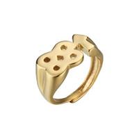 2018 Новый Хип-Хоп Рич Брайан 88 Rising Ring Серебро Золото Нержавеющая Сталь Двойной 8 Цифровые Кольца Для Женщин Мужчин подвески ювелирные изделия