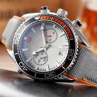 2020 Rodage Chronomètre Montre Homme Mode étanche Quartz Montres-bracelets Calendrier Montres Hommes d'affaires à bas prix en gros