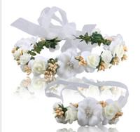 Свадебный венок Корейский стиль невесты тиара оголовье запястье цветок свадебные аксессуары