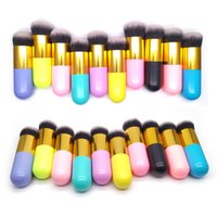 makeup cosmetic brush set with black leather case makeup
